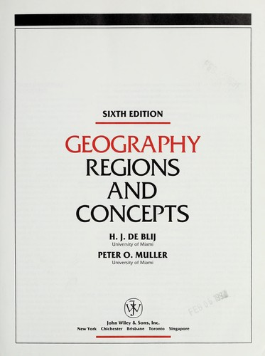 Download Geography, regions and concepts