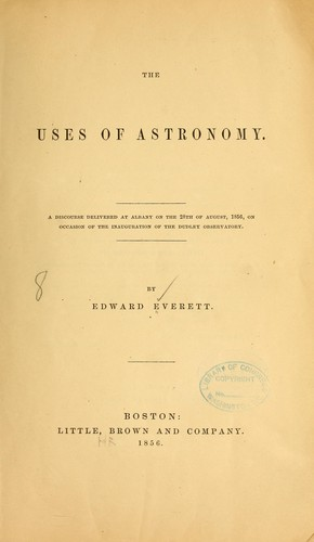 Download The uses of astronomy.
