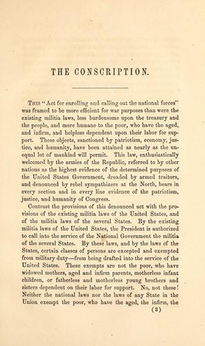 Download The conscription