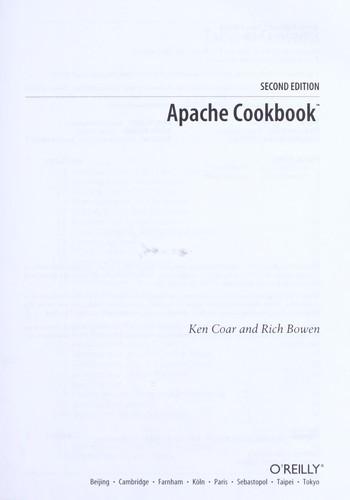 Apache cookbook