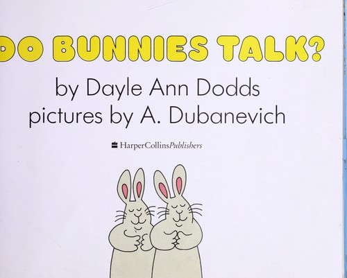 Do Bunnies Talk?