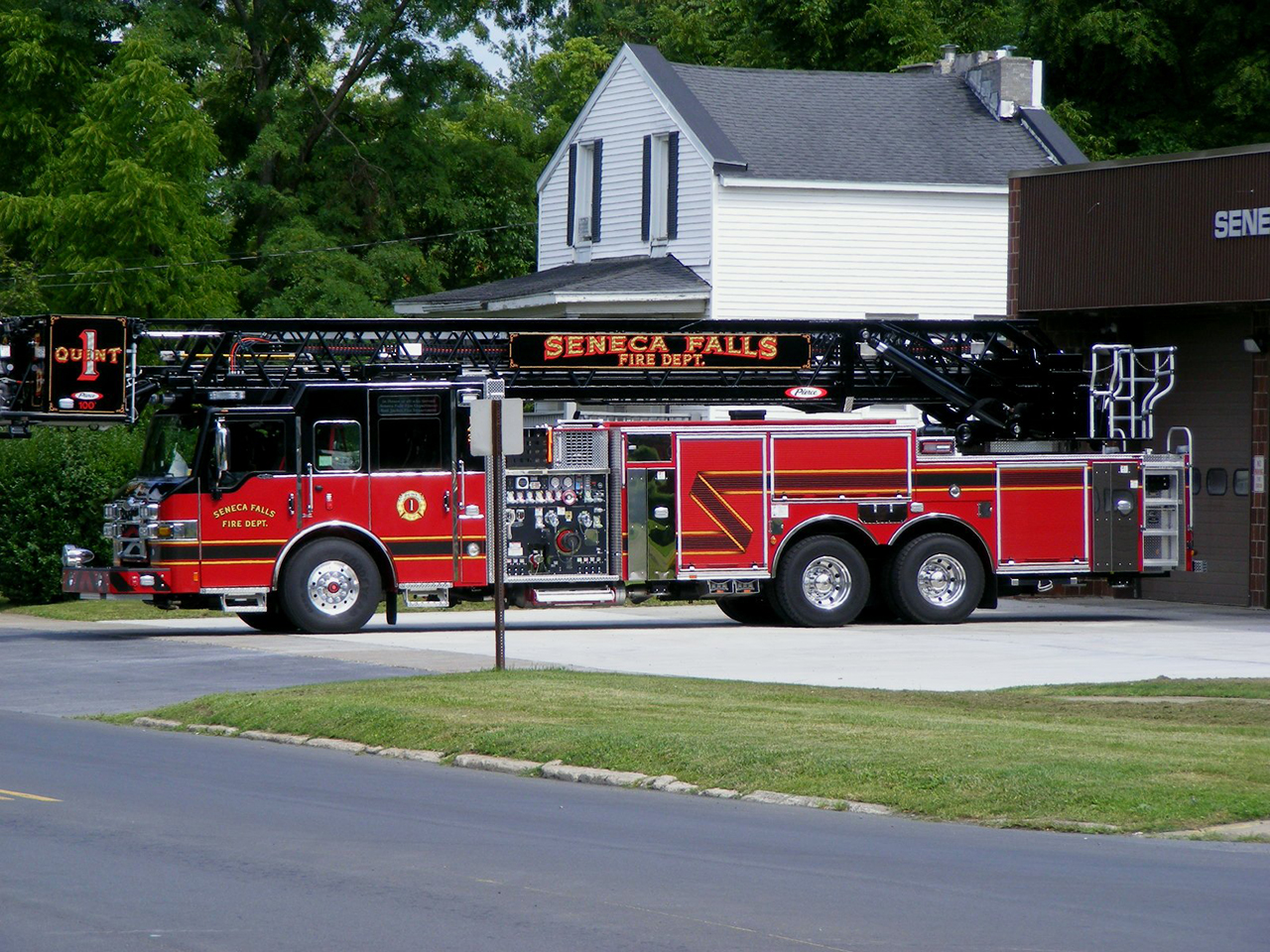 New Ride for Fire Department in Seneca County (photo)