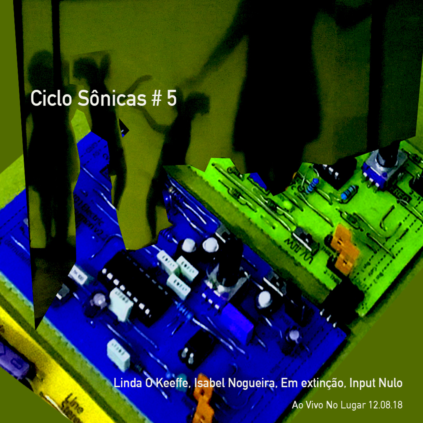 MSRCD095 - Ciclo Sônicas # 5 - Ao vivo no LUGAR, 12.08.18