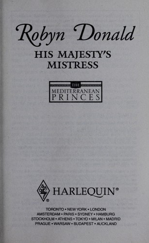 HIS MAJESTY'S MISTRESS by Robyn Donald