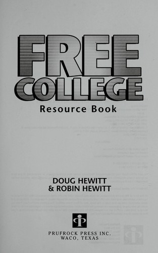 Image 0 of Free College Resource Book: Inside Secrets from Two Parents Who Put Five Kids th